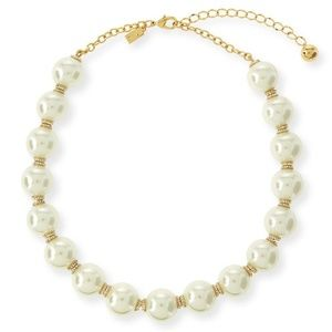 NEW Kate Spade 14K Gold Pearls Of Wisdom Necklace